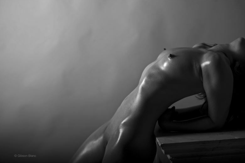 artistic nude studio lighting photo by photographer gibson