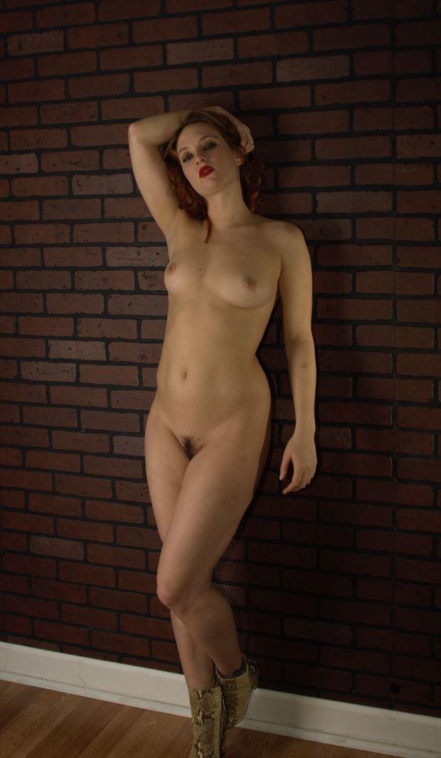 artistic nude studio lighting photo by photographer james curran