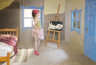 artistic nude studio lighting photo by photographer jerzy r%C4%99kas