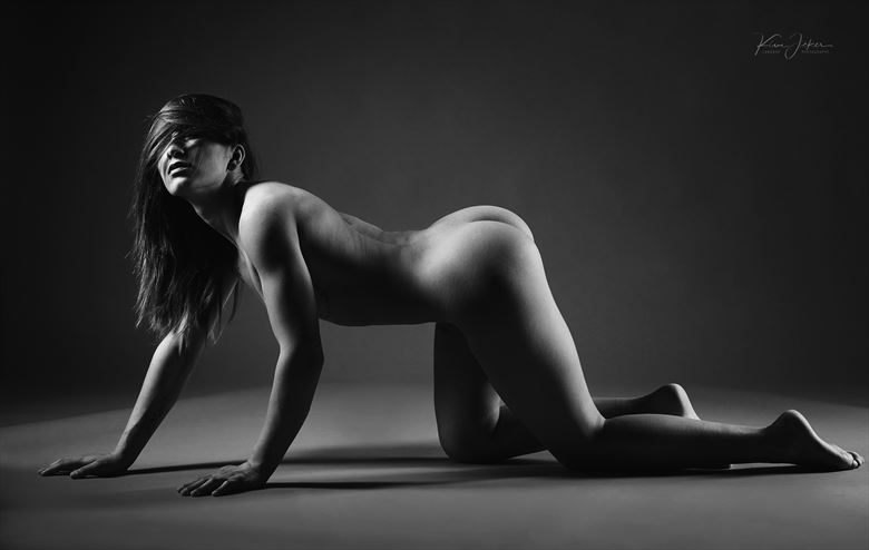artistic nude studio lighting photo by photographer lomobox