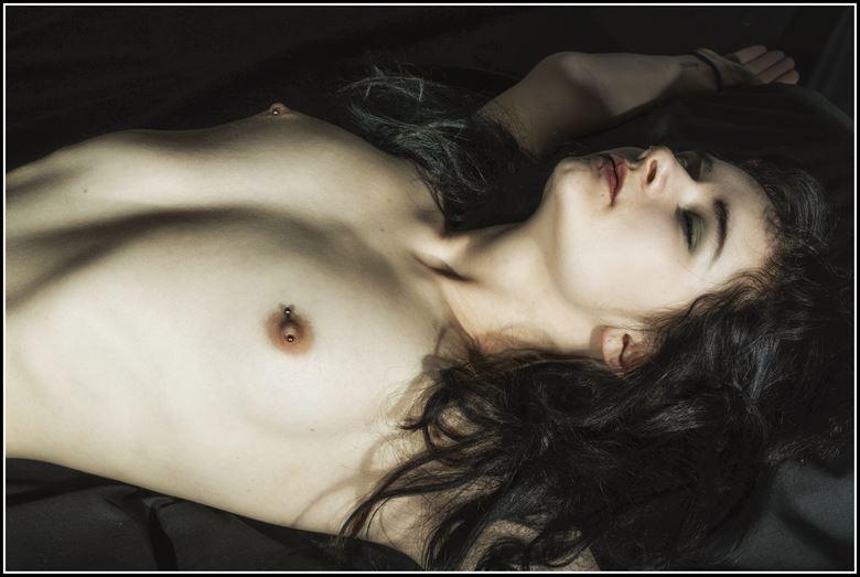 artistic nude studio lighting photo by photographer modelonaway
