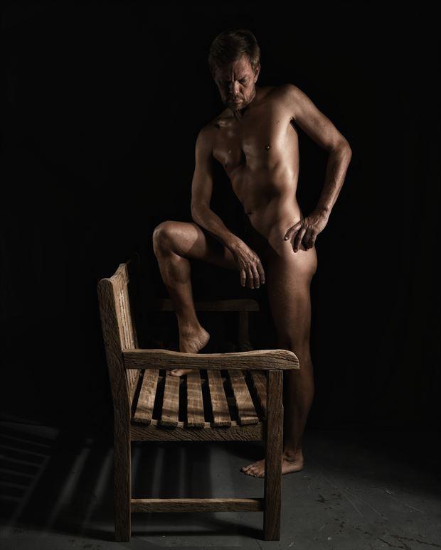 artistic nude studio lighting photo by photographer r pedersen