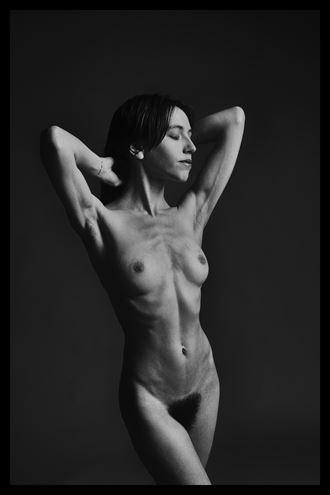 artistic nude studio lighting photo by photographer stevelease