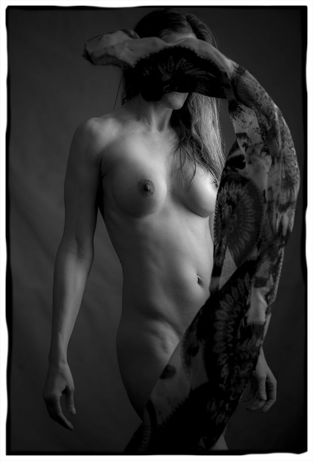 artistic nude studio lighting photo by photographer tim rollins