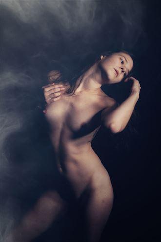 artistic nude surreal photo by model daniella sama