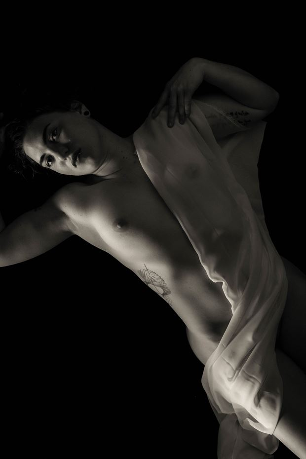 artistic nude surreal photo by model megg bel