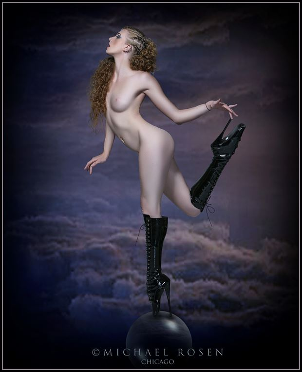 artistic nude surreal photo by model xaina fairy