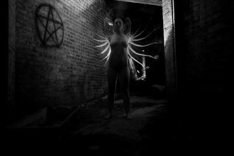 artistic nude surreal photo by photographer endearing journey