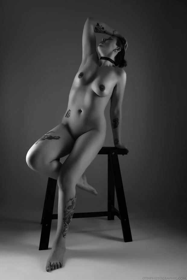 artistic nude tattoos artwork by model kai