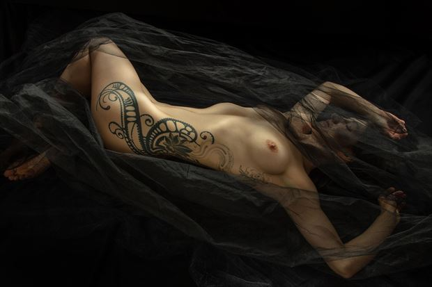artistic nude tattoos photo by model dahliahrevelry