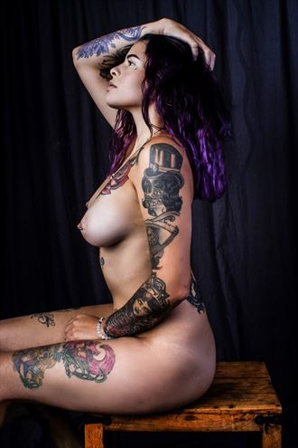 artistic nude tattoos photo by model khandice nikole