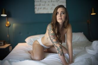 artistic nude tattoos photo by model lennox winter