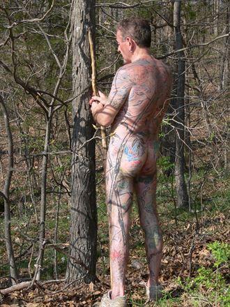 artistic nude tattoos photo by model tattooed gentleman