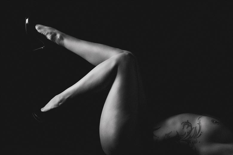 artistic nude tattoos photo by photographer alyce croft boudoir