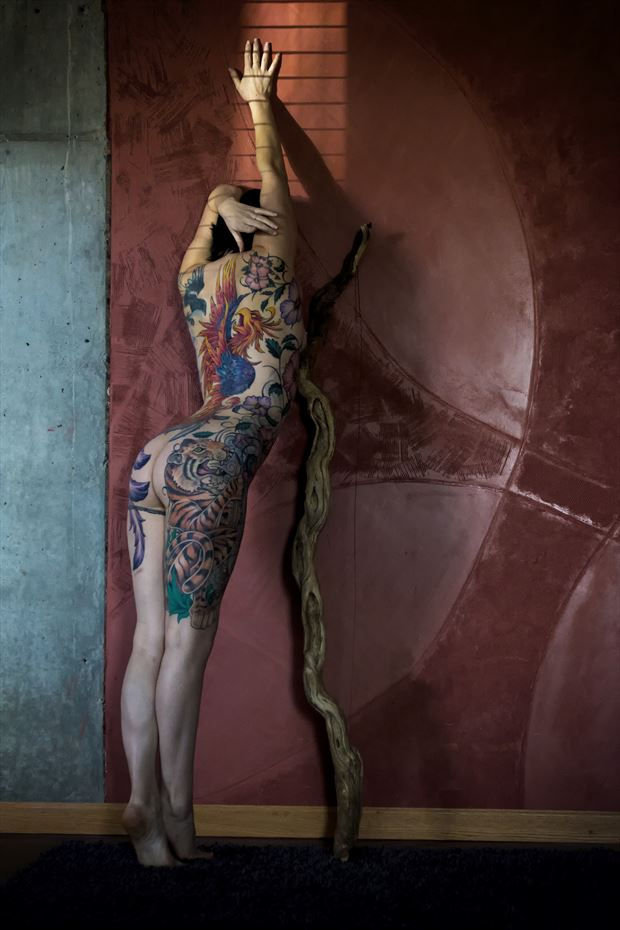 artistic nude tattoos photo by photographer mondo