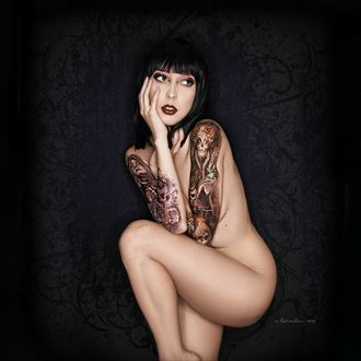 artistic nude tattoos photo by photographer nikzart