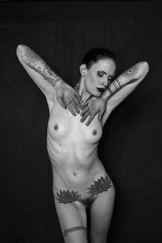 artistic nude tattoos photo by photographer roland allen photo