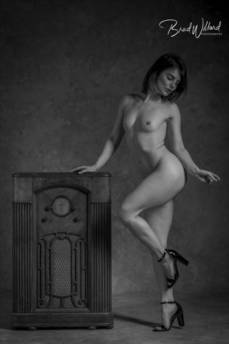 artistic nude vintage style artwork by photographer bwwphotography