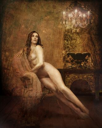 artistic nude vintage style artwork by photographer milchuk