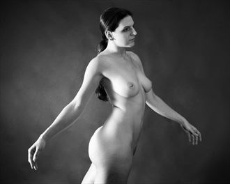 artistic nude vintage style photo by artist figureartist