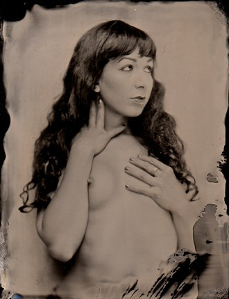 artistic nude vintage style photo by model a k arts