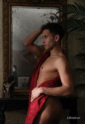 artistic nude vintage style photo by model patrick sabel