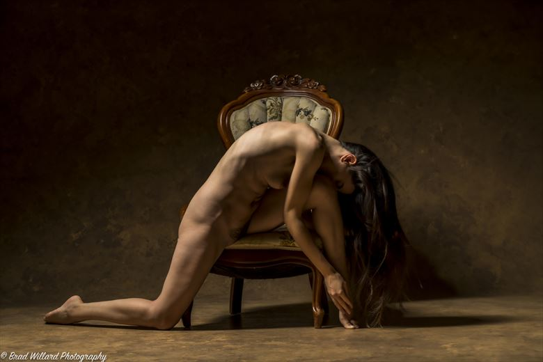 artistic nude vintage style photo by photographer bwwphotography