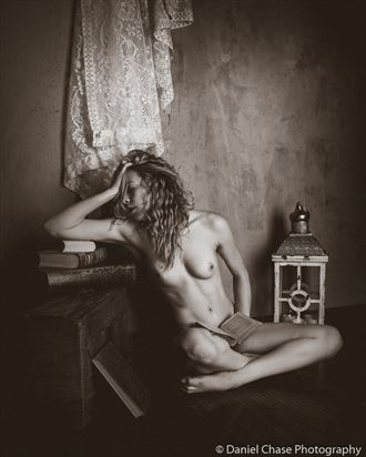 artistic nude vintage style photo by photographer dcphoto