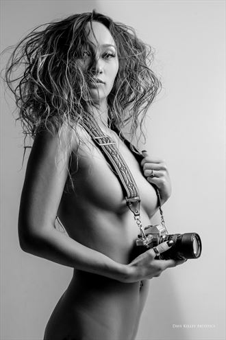 artistic nude vintage style photo by photographer dk artistics