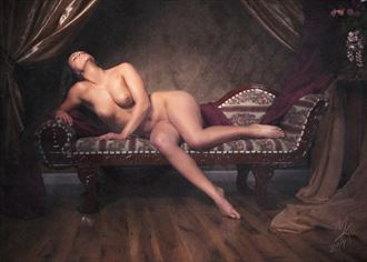 artistic nude vintage style photo by photographer end2endphoto