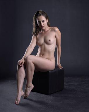 artistic nude vintage style photo by photographer figurephotog