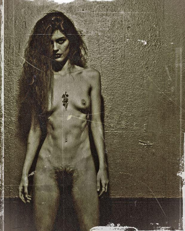 artistic nude vintage style photo by photographer goadken