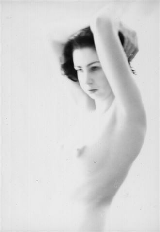 artistic nude vintage style photo by photographer jang