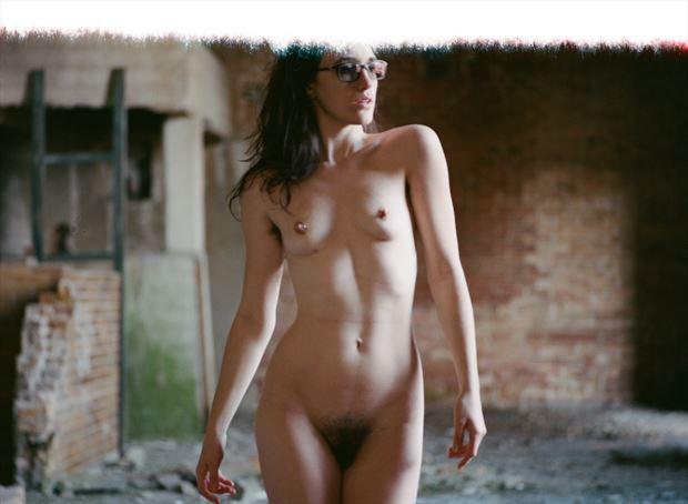 artistic nude vintage style photo by photographer mynameisaldus
