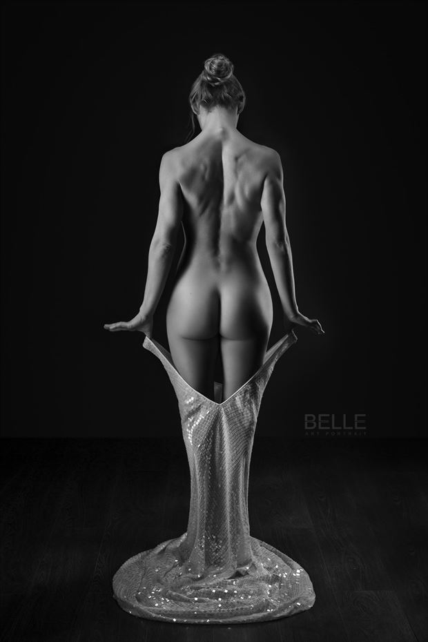 artistic nude vintage style photo by photographer paul misseghers