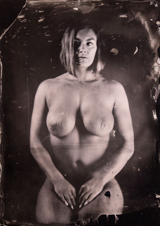 artistic nude vintage style photo by photographer trond kjetil holst