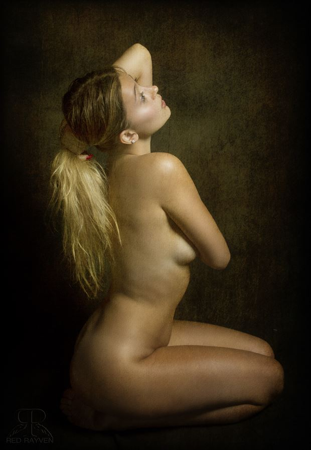 ashley artistic nude photo by photographer red rayven