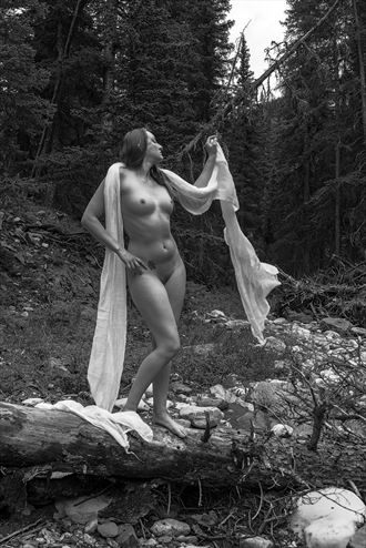 at home in the woods artistic nude artwork by photographer positively exposed
