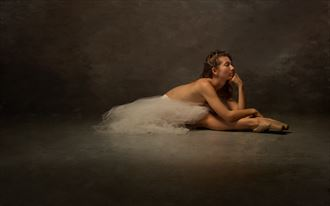 at rest en pointe artistic nude photo by photographer doc list