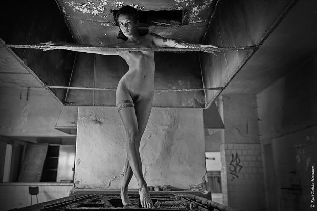 at the old kitchen artistic nude artwork by photographer zoltan k
