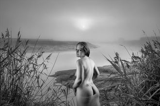 at the river artistic nude photo by photographer andre