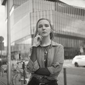 ataayla analog portrait alternative model photo by photographer marcin wozniak