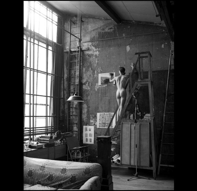 atelier sylvie gaudin artistic nude artwork by photographer arbeit photo hawaii