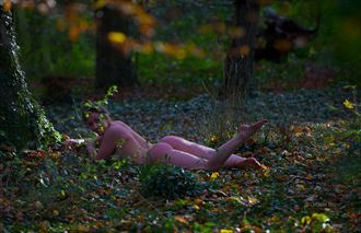 autumn artistic nude photo by photographer gibson
