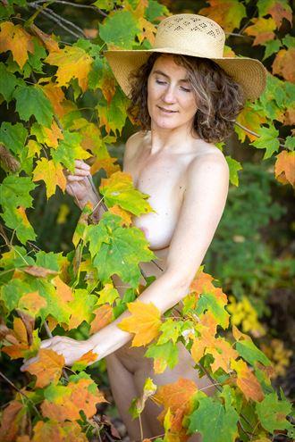 autumn colors artistic nude photo by photographer marshallart
