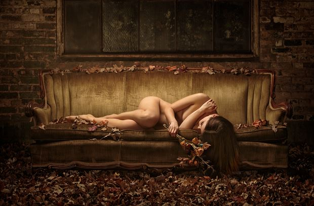 autumn s embrace artistic nude photo by photographer paul misseghers