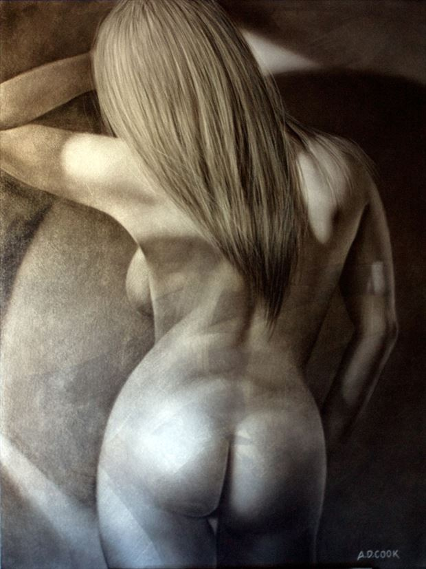 avalon artistic nude artwork by artist a d cook