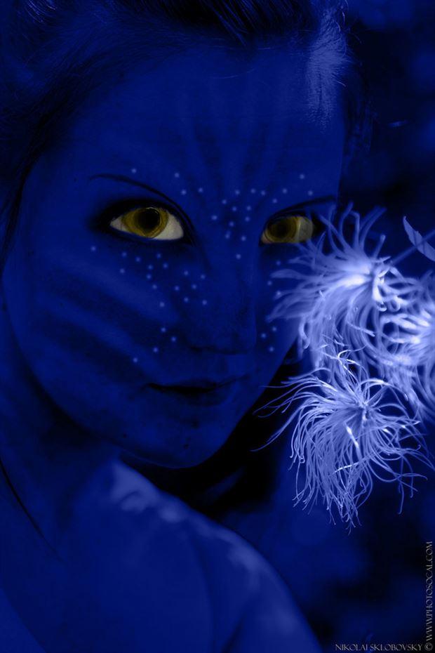 avatar cosplay artwork by photographer darth slr