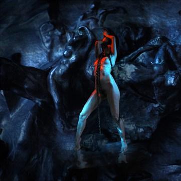 avec Rodin Fantasy Photo by Artist jean jacques andre