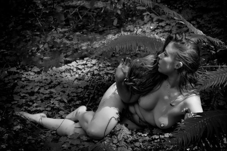 awakened artistic nude photo by photographer philip turner
